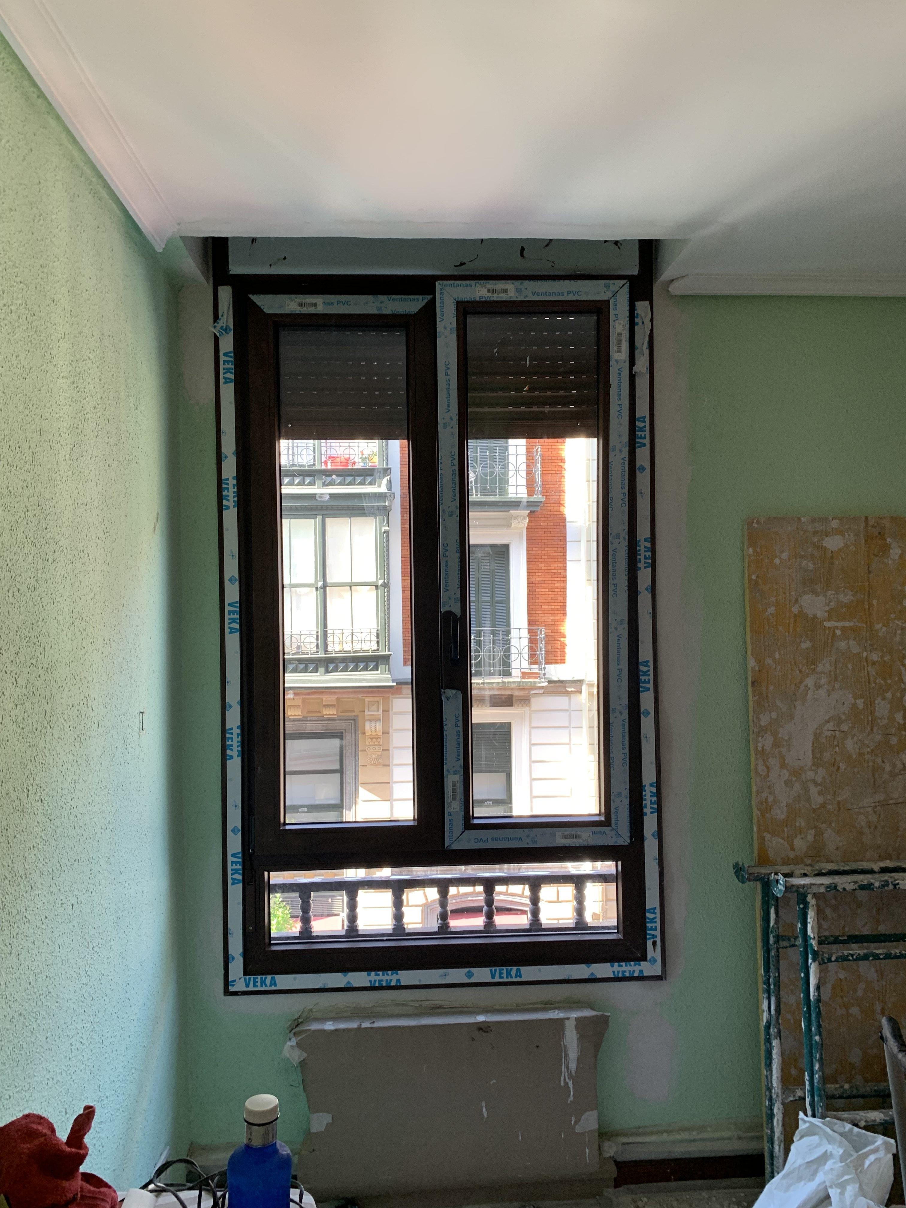 Instalación de ventanas de PVC en Barakaldo
